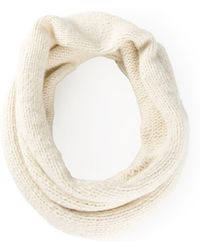Rosetta Getty - Knitted Tube Scarf - Lyst