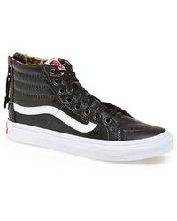 Vans 'Sk8-Hi Slim Zip' Sneaker - Lyst