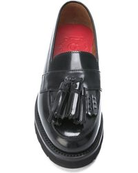 Foot The Coacher - Tassel Leather Loafers - Lyst