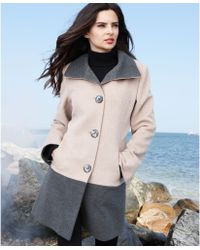 Womens Wool Car Coat - JacketIn
