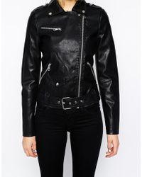 94f661b526f3 Women s Vero Moda Leather jackets Online Sale - Lyst