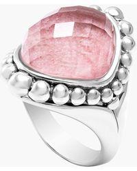 Lagos 'Maya' Stone Ring pink - Lyst