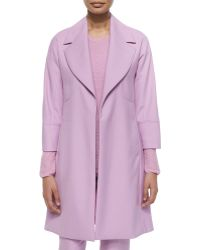 Shamask Double-Faced Wool Coat - Lyst
