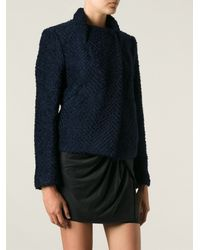 Isabel Marant Textured Knitted Jacket - Lyst