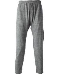 DSquared² Drop Crotch Sweat Pants - Lyst