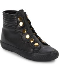 Ash Vespa Leather High Top Sneakers - Lyst