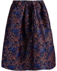 Markus Lupfer Knee Length Skirt - Lyst