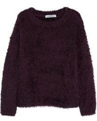 Elizabeth And James Brushed Knitted Sweater - Lyst