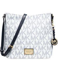 Michael Kors Michael Jet Set Travel Large Messenger Bag - Lyst