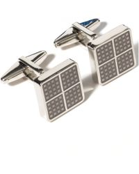 Kenneth Cole Reaction Square Dot Detail Cufflinks - Lyst