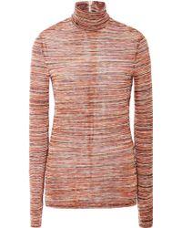 Rodarte Knitted Turtleneck Sweater - Lyst