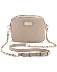 DKNY Quilted Leather Chain Camera Bag - Lyst