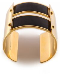 Maiyet - Double Truss Bracelet With Inlay - Black - Lyst