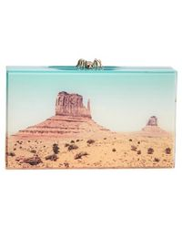 Charlotte Olympia 'Pandora - Panoramic' Box Clutch - Lyst