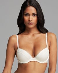 Calvin Klein Bra Modern Signature Flirty Molded Push Up - Lyst