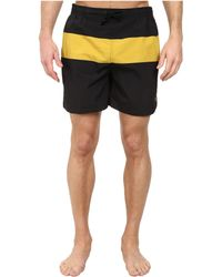 Fred Perry Panelled Swimshort - Lyst
