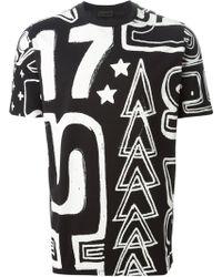 Diesel Black Gold Toriciy-Graffity 1 T-Shirt - Lyst