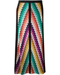 Missoni Zig Zag Crochet Long Skirt - Lyst