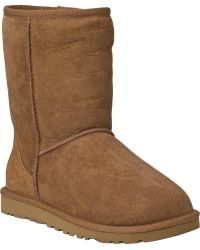 Ugg | Classic Short Boot Chestnut Suede | Lyst