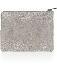 Pied A Terre Leather Pouchette - Lyst