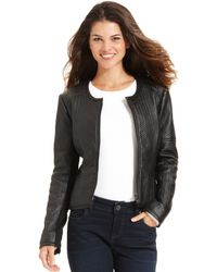 Kut From The Kloth Faux-leather Textured Zack Jacket - Lyst