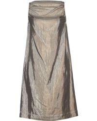 Rick Owens Short Dress - Lyst
