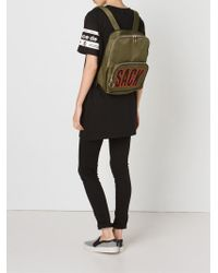 House of Holland - 'sack' Backpack - Lyst