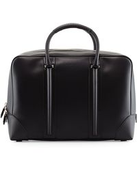 Givenchy Mens Small Leather Weekender Bag - Lyst