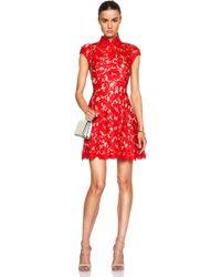 Lover Warrior Lace Mini Dress - Lyst