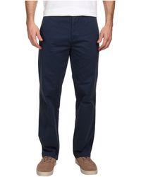 Calvin Klein Flat Front Dylan Pant - Lyst