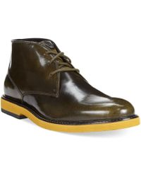 Armani Jeans Lace-up Chukka Boots - Lyst
