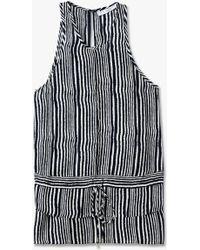 Derek Lam | Tie Detail Shirt | Lyst