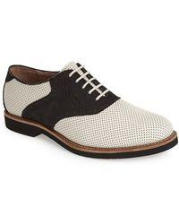 G.H.BASS - 'burlington' Saddle Shoe - Lyst