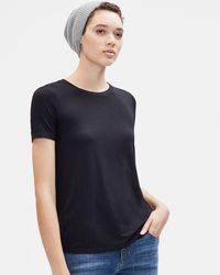 fa3017677c23f Eileen Fisher - Lofty Recycled Cashmere Hat - Lyst