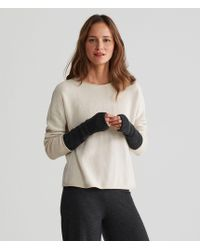 Eileen Fisher - Exclusive Lofty Recycled Cashmere Glovelettes - Lyst
