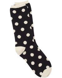 Eileen Fisher - Cozy Viscose Blend Dot Sock - Lyst