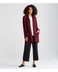 Eileen Fisher - Exclusive Lofty Recycled Cashmere Kimono Cardigan - Lyst