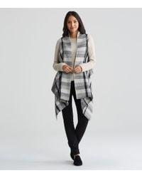 Eileen Fisher - Handwoven Peruvian Organic Cotton Alpaca Vest - Lyst
