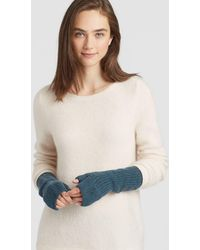 Eileen Fisher - Lofty Recycled Cashmere Glovelettes - Lyst