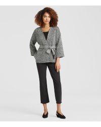 Eileen Fisher - Handwoven Peruvian Organic Cotton Kimono Jacket - Lyst