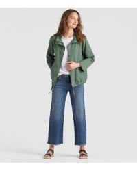 Eileen Fisher - Sueded Organic Cotton Hemp A-line Jacket - Lyst