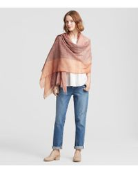 Eileen Fisher - Handloomed Organic Cotton Wrap - Lyst