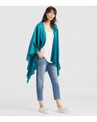 Eileen Fisher - Silk Wool Ombre Serape - Lyst