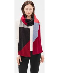 Eileen Fisher - Resewn Color-blocked Merino Scarf - Lyst