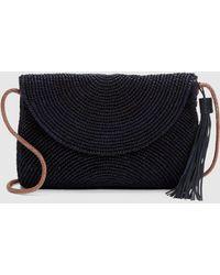 Eileen Fisher - Mar Y Sol Crocheted Raffia Leah Shoulder Bag - Lyst