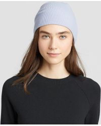 Eileen Fisher - Luxe Merino Stretch Slouchy Hat - Lyst
