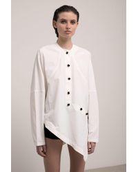 J.W. Anderson   Asymetric Shirt   Lyst