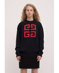 Givenchy - Logo Knitted Jumper - Lyst
