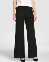 Zendra El Corte Inglés - El Corte Inglés Zendra Knitted Wide-leg Trousers - Lyst