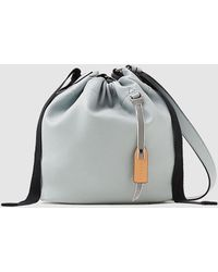 Esprit - Wo Blue Crossbody Bag With An Inner Compartment - Lyst